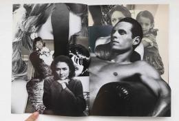 Robert Heinecken/Compromised Magazine / B+W / Cut/1994/Reassembled magazine with cut collage