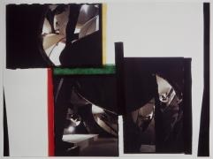 Gordon Matta-Clark, Circus or Caribbean Orange, 1978. Cibachrome photograph, 30 x 40 inches.