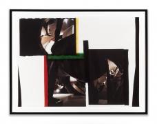 GORDON MATTA-CLARK,Caribbean Orange, 1978,Unique Cibachrome,Image Dimensions: 30 x 40 inches, Framed Dimensions: 34.75 x 45 inches