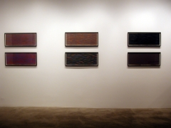 Installation view at Rhona Hoffman Gallery, Sol LeWitt, New Wall Drawings and Gouaches, 2003-2004