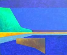 Horizon VI, 2000, Acrylic on canvas