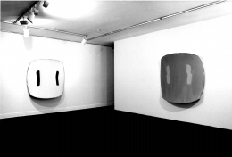 Installation view at Young Hoffman Gallery, Ron Gorchov, 1979