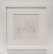 Jim Nutt, Untitled, 1976-77. Pencil on paper, 11.25 x 11.25 inches.