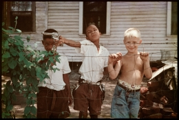 Untitled, Alabama, 1956.  Archival pigment print, 11 x 14 inches.  Edition 12/15.
