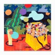 Gladys Nilsson, Still Scape, 2019, Acrylic on canvas