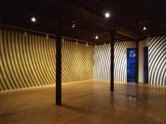 Installation view at Rhona Hoffman Gallery, Sol LeWitt, New Wall Drawings, 1986