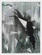 Torkwase Dyson/Down-down/2018/Acrylic on canvas