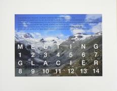Melting Glacier, 2005. Archival inkjet print, 17 3/4 x 22 1/4.