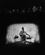 Invisible Man Retreat, Harlem, New York,1952.Gelatin silver print, 20 x 24 inches.