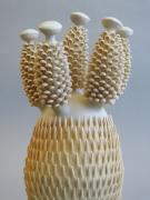 Chris Garofalo, sagte pynappel kaktus, 2017, Glazed porcelain
