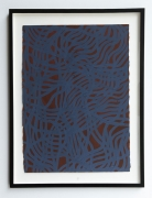 Sol LeWitt.Irregular Grid, 2001. Gouache on paper.