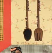 Derrick Adams/Still Life/2013/mixed media collage on paper