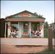 Store Front, Mobile, Alabama, 1956, 1956.Archival pigment print, 34 x 34 inches, Edition 5 of 7.