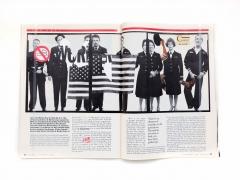 Robert Heinecken/Revised Magazine / Avedon - Newsweek, September 13, 1993/1993/Revised magazine