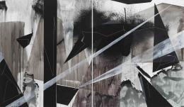 Torkwase Dyson/Joni Lee Blackman/2018/Acrylic on canvas