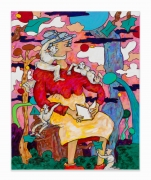 Gladys Nilsson, Blank Verse, 2018, Acrylic on canvas