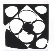 Judy Ledgerwood, Georgy Girl, Acrylic and oil on canvas, 2003