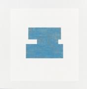 Study for Threshold - Plan, North [ blue with orange ] #2