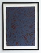 Sol LeWitt, Irregular Grid, 2001. Gouache on paper.