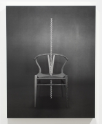 Wishbone, 2012. Gelatin Silver Print mounted on gold-leafed box, 40 x 30 inches, print.