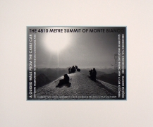 Monte Bianco (Summit), 2009. Archival inkjet print, 17.75 x 21 inches.