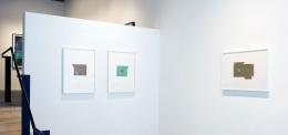 Installation view at Rhona Hoffman Gallery, Julia Fish, Between: Stairs and Landings, 2008