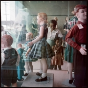 Gordon Parks, Ondria Tanner and Her Grandmother Window-shopping, Mobile, Alabama, 1956, 1956. Archival pigment print, 34 x 34 inches.