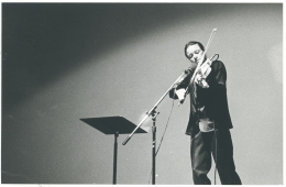 Laurie Anderson/Performance at Northwestern University/1979