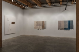 Installation view at Rhona Hoffman Gallery/Martha Tuttle/Cimarron/2017