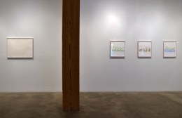 Installation view at Rhona Hoffman Gallery/Spencer Finch/Saturated Light/2016