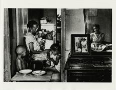 Gordon Parks.Ella Watson with Her Grandchildren, Washington, D.C.,1942. Gelatin silver print, 11 x 14 inches.