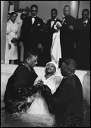 GORDON PARKS,Baptism, Chicago, Illinois, 1953,Gelatin Silver Print,Image Dimensions: 12 15/16 x 9 5/16 inches, FramedDimensions: 22 3/8 x 18 3/4 inches, Edition 1 of 15
