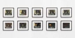 Robert Heinecken/Mr. President... Mr. President... C, Set #1/1987/Silver-dye bleach prints/Set of 10