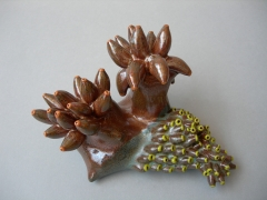 Chris Garofalo. Pselaphognatha Protura, 2010. Porcelain, 6.5 x 4.5 x 3.5 inches