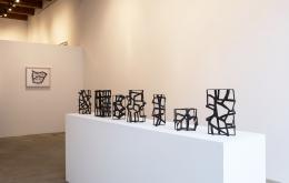 Installation view at Rhona Hoffman Gallery/Susan Hefuna/Cityscapes/2017