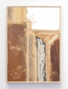 Incidental Panel, 2014. Salvaged material, 37 x 26 inches.