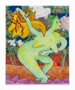 Gladys Nilsson, Wader, 2018, Acrylic on canvas