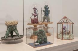 Installation view at Rhona Hoffman Gallery/Chris Garofalo/Precious Fragments exquisite longing/2017-18