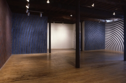 Installation view at Rhona Hoffman Gallery, Sol LeWitt, New Wall Drawings, 1986