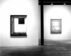 Installation view at Young Hoffman Gallery, Donald Sultan, New Paintings, 1979