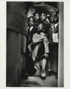 Black Muslim Schoolchildren, Chicago, IL,1963. Lifetime gelatin silver print, 11 x 14 inches.