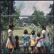 Gordon Parks. Otside Looking In, Mobile, Alabama, 1956, 1956. Archival pigment print, 42 x 42 inches, edition 3 of 7.