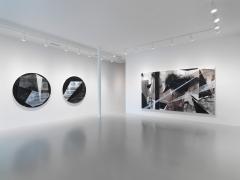 Installation view at Rhona Hoffman Gallery/Torkwase Dyson/James Samuel Madison/2018
