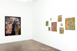 grouping of Steven Charles at Cris Worley Fine Arts, April 2019