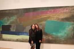 Hannele Dzubas and Patricia Lewy-Gidwitz