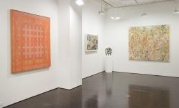 vincent longo, cleve gray, larry poons, joel perlman, loretta howard gallery