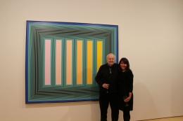 Richard Anuszkiewicz and Loretta Howard