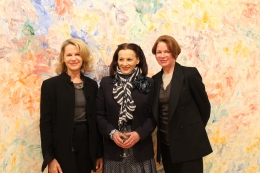 Allison Spear, Marian Mcevoy and Sharon Simonaire