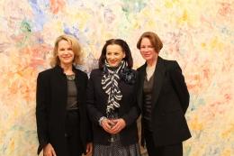 Allison Spear, Marian Mcevoy and Sharon Simonaire