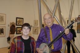 Dave Sear and Alice Bernstein